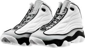 separation shoes 42cda 29d6f Image is loading Men-039-s-Air-Jordan-Pro-Strong-Grey-