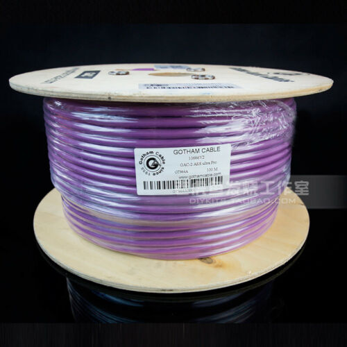 1meter 10666 Balanced Digital Cable Gotham GAC-2 AES ultra pro Audio Cable