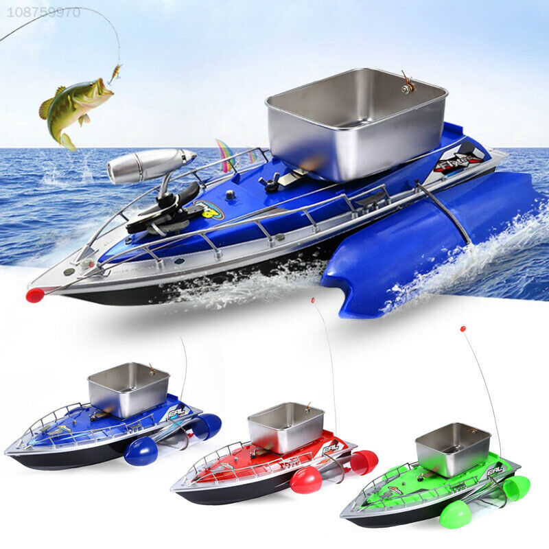 796A LED Fishing Bait Boat Remote Control Plastic Alloy Outdoor Practical