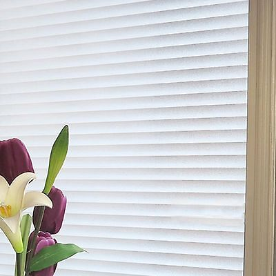 90cm x 3m Blinds Bathroom Office Privacy Frosted Removable Window Glass Film