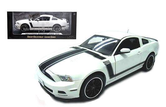 Ford mustang boss 302 2013 - 1,18 skala shelby sammlerstücke