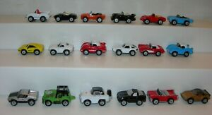 VINTAGE Micro Machines Muscle Classic Cars Lotto di 18-Galoob 1986 - 1987