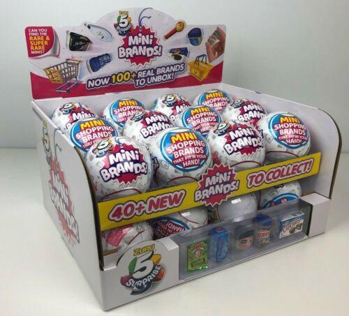x1 Surprise Mini Brands Zuru BALL Purchase more /& save Fast Ship New Sealed