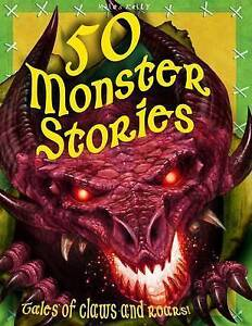 50-Monster-Stories-512-page-fiction-Tig-Thomas-Good-Fast-Delivery