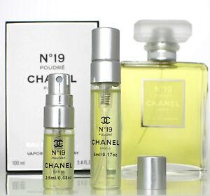 Chanel 19 poudre sample   ebay.