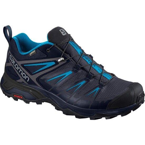 Salomon X Ultra 3 GTX Walking Shoes UK 10 Night Skyhawaii for sale online | eBay
