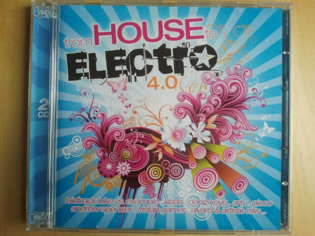 From House to Electro 4.0 2CD ZYX Music