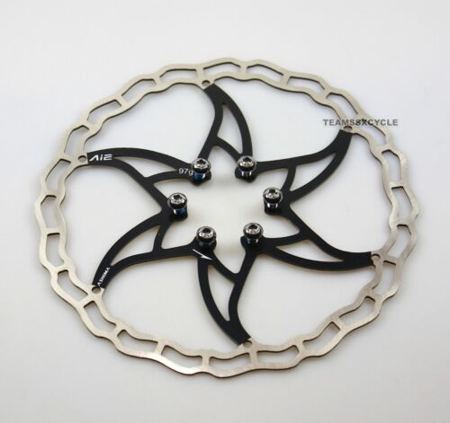 180mm World/'s lightest TEAMSSX~New ASHIMA Ai2 disc rotor 1 piece 97g