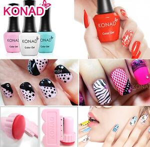 Konad Stamping Nail Art Diy Special Nail Polish Image Plate Manicure