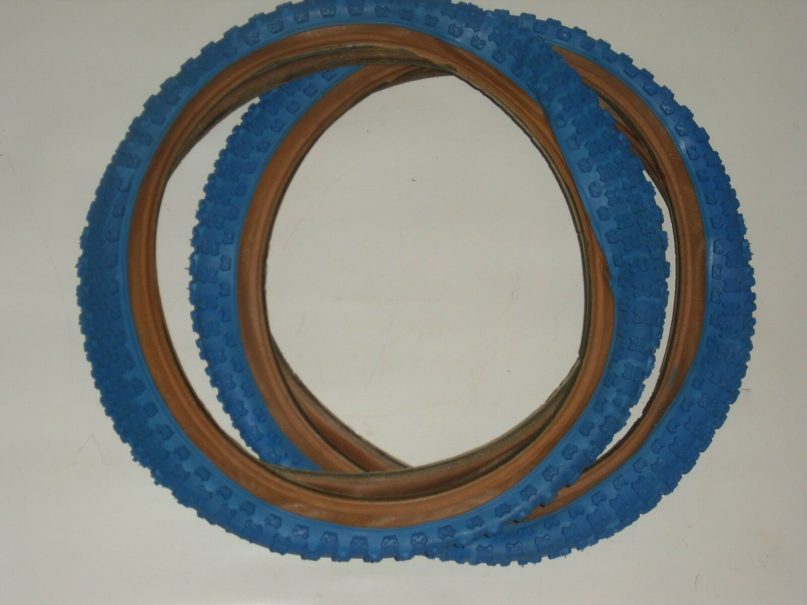 Old School  nos Cheng Shin 16 X  1.75 bluee comp 3 tires pit bmx bike pair set  large selection