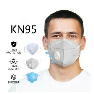 10x KN95 N95 P2 Face Mask Particulate Respirator Disposable Mask Anti Dust 10Pcs