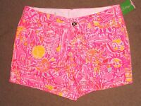 Lilly Pulitzer Pink Pout Kinis In Keys Callahan 5 Short 4 6 8