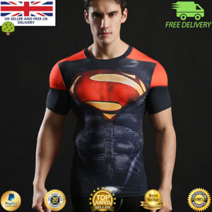 M Neuf Marvel Superman T-shirt Hommes coton-taille S