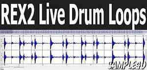 REX2 Live Drum Loops Dr. REX Hip Hop Rap Live Drums Grimy Dirty Reason FL Studio
