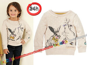 NEXT Pullover Bluse Sweatshirt HASE für Mädchen 36 Monate 68cm ES - <span itemprop='availableAtOrFrom'>Bedford, Bedfordshire, United Kingdom</span> - Returns accepted Most purchases from business sellers are protected by the Consumer Contract Regulations 2013 which give you the right to cancel the purchase within 14 days  - Bedford, Bedfordshire, United Kingdom
