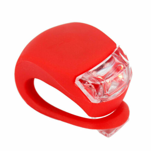 Bicycle LED Ball Waterproof Safe Lamp Tail Cycling Night Riding Heart Light UP