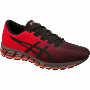 Asics GEL QUANTUM 180 4 Men s 1021A104.600 Classic Red Black Running ... 8a407d194928f