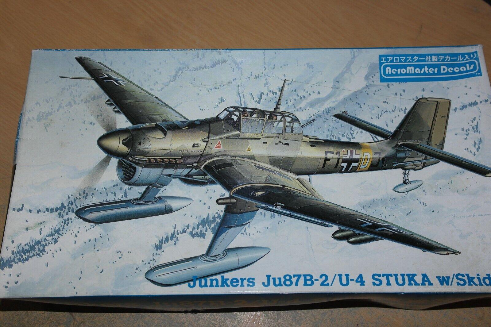 HASEGAWA 1 48 JUNKERS JU87B -2  U -4 STUKA W  Sungar 09171