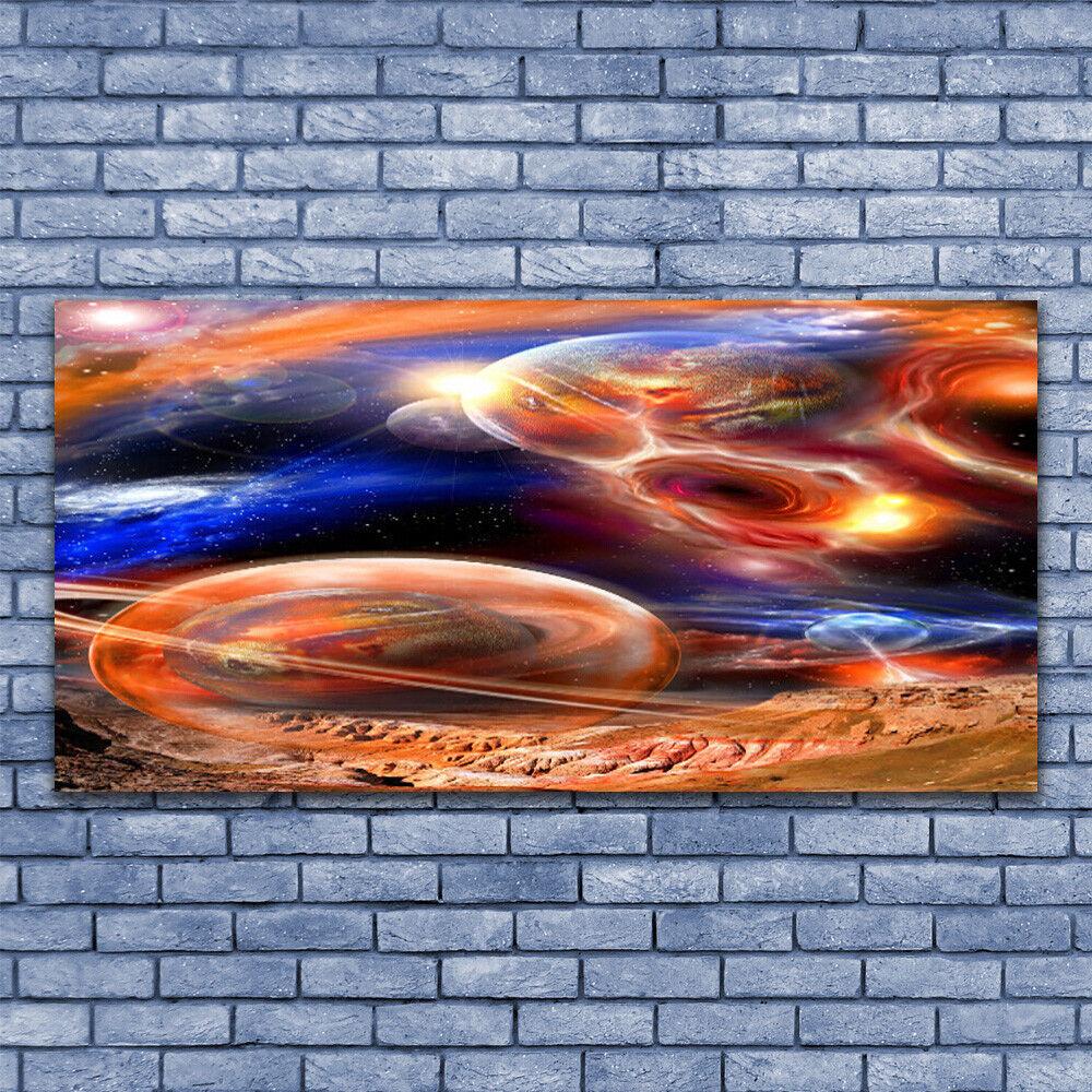 Wandbilder Glasbilder Druck auf Glas 140x70 Abstrakt Weltall