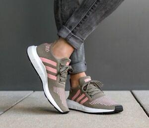 bdba86d8439b9 Adidas Women s Swift Run Trace Cargo Trace Pink Sneakers CG4142 Sz ...