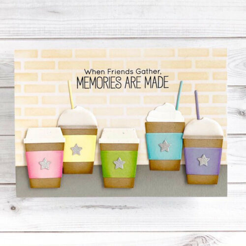 Coffee Canvas Shoes Drawing Board Cutting Die Active Card Album DIY Scrapbooking