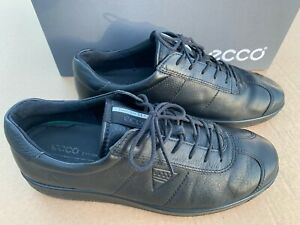 ECCO-Soft-1-Men-039-s-Leather-Sneakers-400514-Size-US-8-8-5-EU-42-UK-8-Used