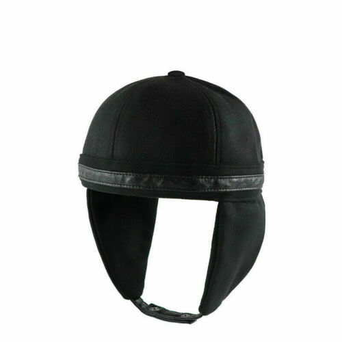Skullcap Sailor Hat Cap Rolled Cuff Beanie Ear Flap Aviator Unisex Brimless Chic
