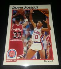 Dennis Rodman #64 NBA Hoops 1991 Defensive Player of the Year Detroit Pistons