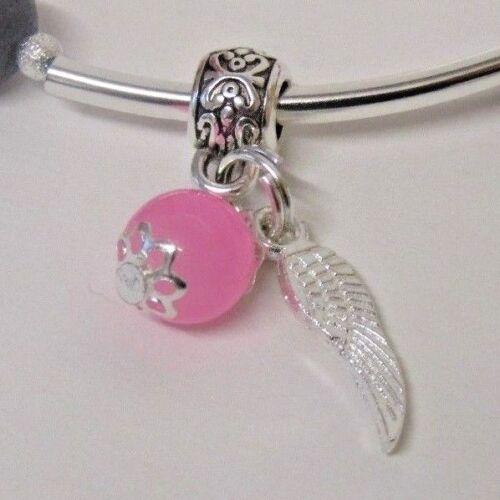 Faceted Grey Jade /& Sesame Jasper Love Hearts Bracelet Charm Choice Stunning!!