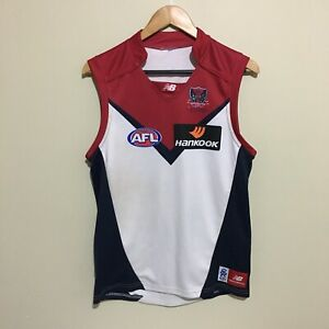 Melbourne-Demons-New-Balance-AFL-2011-Clash-Football-Guernsey-Mens-Small