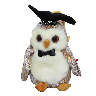 1999 MWMT Details about  /Graduation Ty Original Beanie Babies Retired Wiser the Owl June 4
