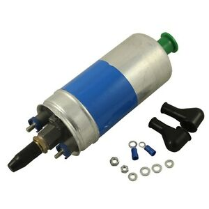 new electric fuel pump 0580254910 w install kits for mercedes w123 w124 w126. Black Bedroom Furniture Sets. Home Design Ideas
