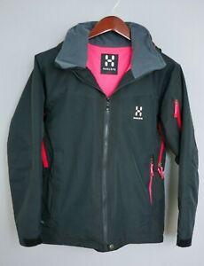 XII512-Women-Haglofs-Proof-Skiing-Snowboarding-Waterproof-Jacket-Size-M-UK12