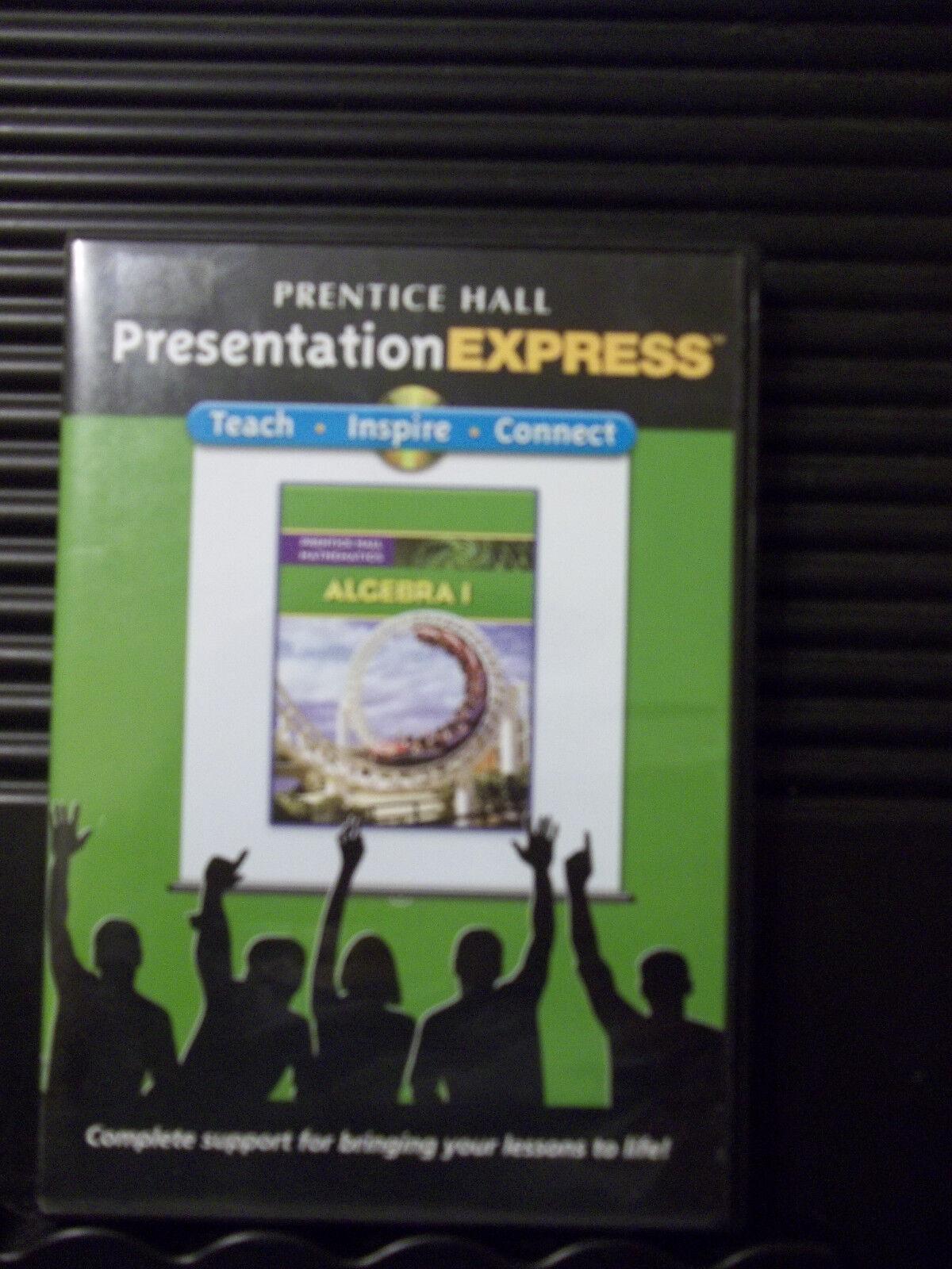 Prentice Hall Math Algebra 1 Presentation Express CD Comprehensive Easy To Use