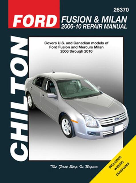 repair manual chilton 26370 ebay rh ebay com 2010 ford fusion repair manual 2010 ford fusion repair manual pdf
