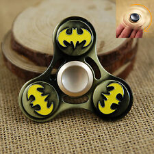 Bat Wing Tri Spinner Fidget Focus Toy EDC Finger Spin Gyro ADHD Autism Batman