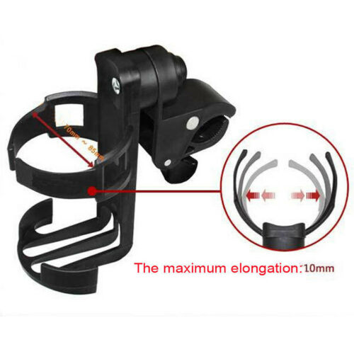 Universal Rotatable Cup Holder Bicycle Baby Stroller Parent Console Organizer