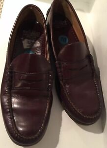 Mens Sebago Leather Penny Loafer Shoes Sz 10 E Wise GREAT ...
