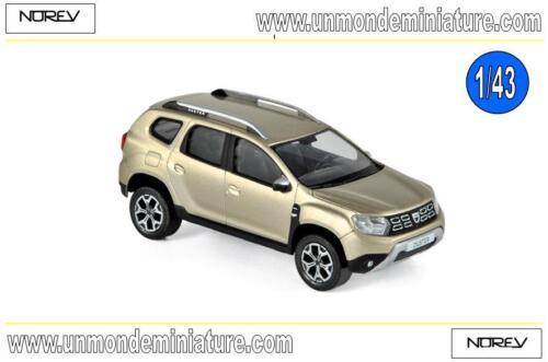 509003 Echelle 1//43 Dacia Duster 2018 Dune Beige  NOREV