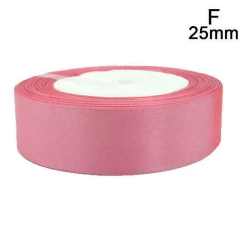 6mm 15mm 25mm Pale Mauve Silk Satin Ribbon Christmas best Ribbon Z8F2