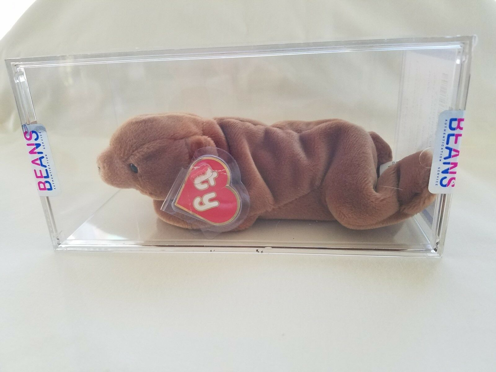 Authenticated EXTREMELY RARE  TY Beanie Baby Cubbie  KOREAN
