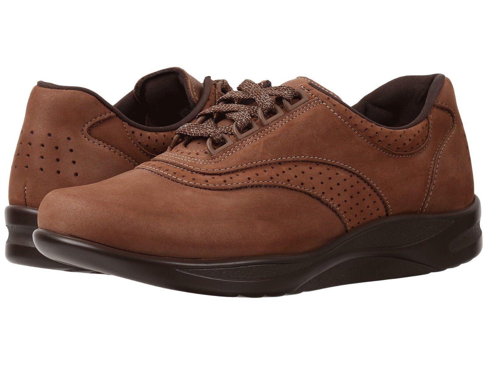 SAS WALK EASY damen Comfort Chocolate 2380 076 Leather Comfort damen Lace Up Turnschuhe schuhe 1d6ce3