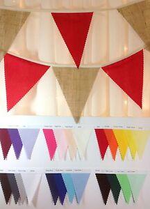 Rustico-Arpillera-Guirnalda-Elige-tu-diseno-Colores-y-longitudes-bodas