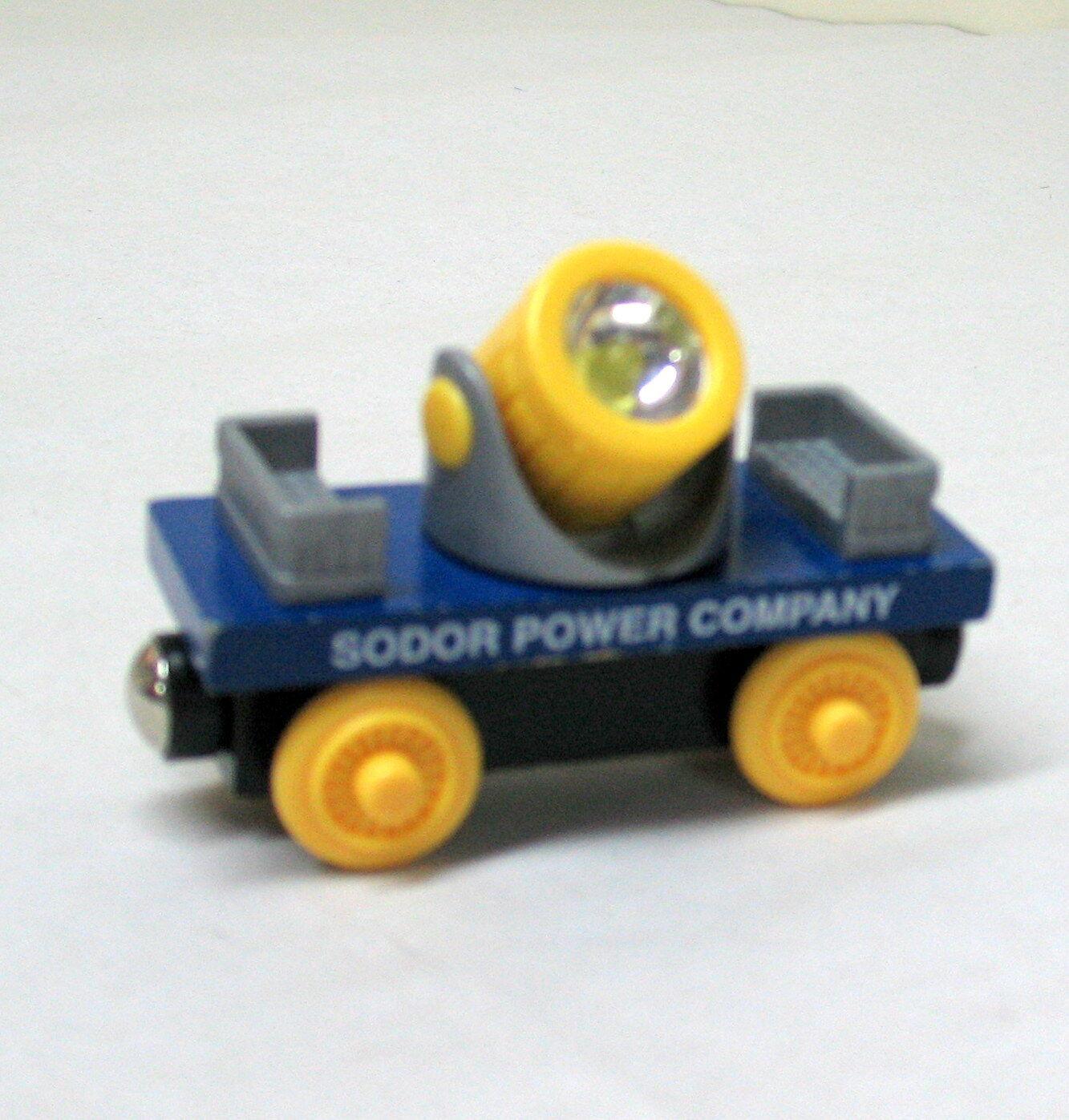 Thomas Wooden Railway, SODOR POWER COMPANY COMPANY COMPANY SET, 2003, EUC f015af