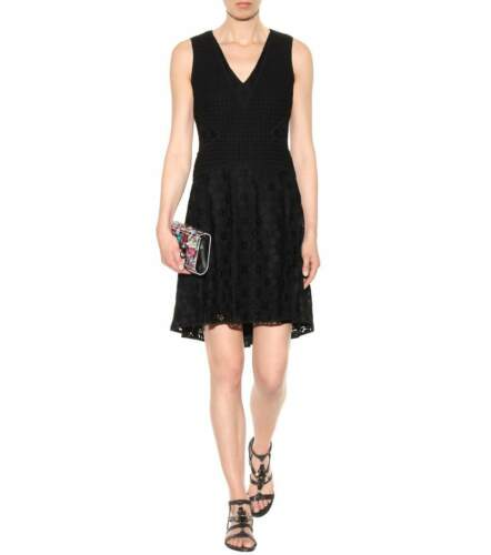 maat 10 Fiorenza kanten Von Zwart Nwt Diane Furstenberg Lbd jurk roCxdBeW