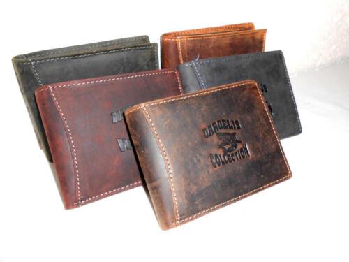 6e1a6640282c2 2 von 6 Geldbörse Herren Accessoires Geldbeutel Portemonnaie Portmonee  Wildleder 992 Hai