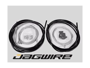 JAGWIRE-ROAD-SHOP-KIT-Complete-Brake-amp-Shifter-Cable-and-Housing-Kit-Black