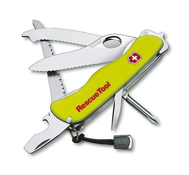 Victorinox Taschenmesser RESCUE TOOL IN ETUI neu + Gravur auf Wunsch. 0.8623.MWN