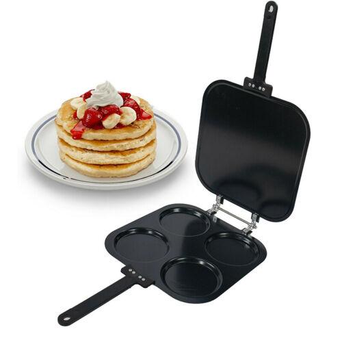 Perfect Bake /& Serve Pancake Maker Pan Eggs French Toast Omelette Flip Jack Pan