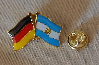 Freundschaftspin Argentinien Pin NEU Fahne Flagge